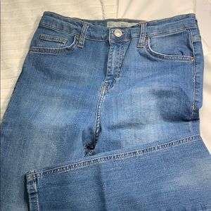 Topshop jamie jeans 30 x 30 no rips